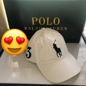 new authentic polon ralph lauren big pony hat cap